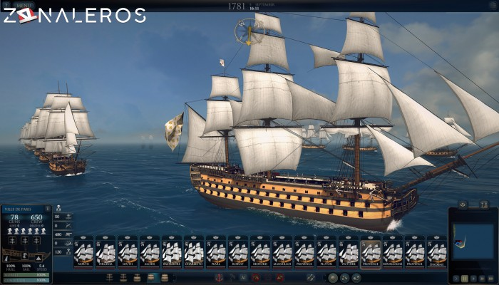 Ultimate Admiral Age of Sail por torrent